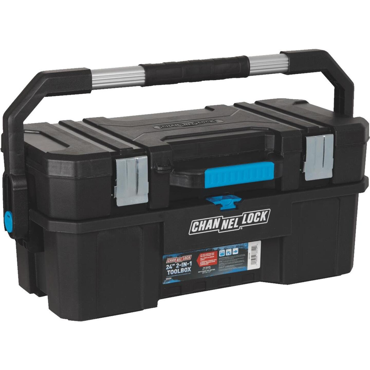 Channellock 24 In. 2-in-1 Toolbox Image 3