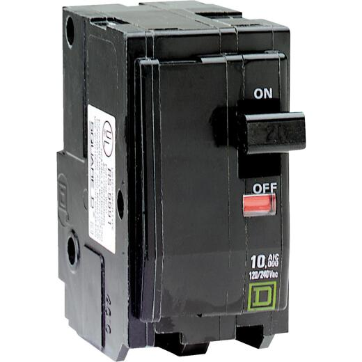 Square D QO 50A Double-Pole Standard Trip Circuit Breaker