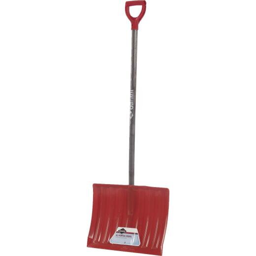 Garant Nordic 18 In. Poly Snow Shovel with 42.25 In. Wood Handle