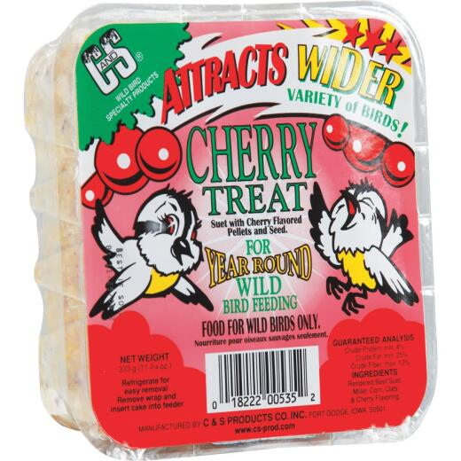 C&S 11.75 Oz. Cherry Treat Suet