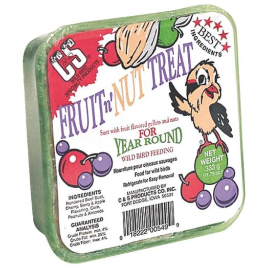 C&S 11.75 Oz. Fruit & Nut Treat Suet